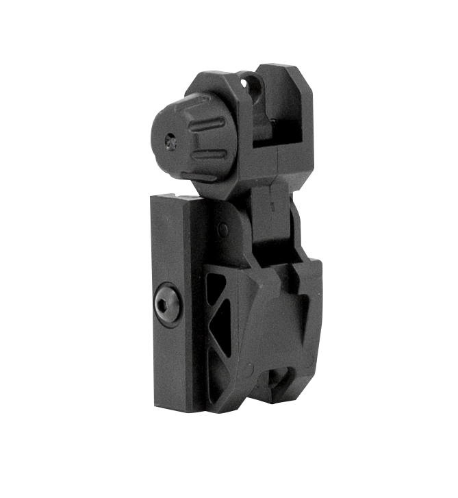 Valken Rear Flip Up Sight - Black