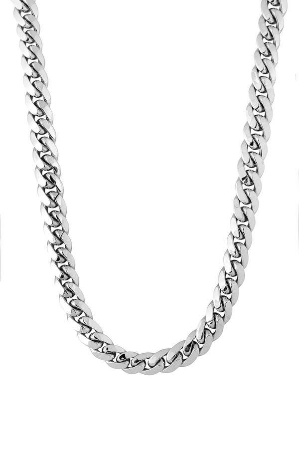 .925 10mm Cuban Chain - Dead Boys Club, Rock n Roll Jewellery, Contemporary Jewellery, Rock and Roll Jewellery, Dead Boys Club Rock n Roll Bracelets Necklaces Chokers Wallet Chains