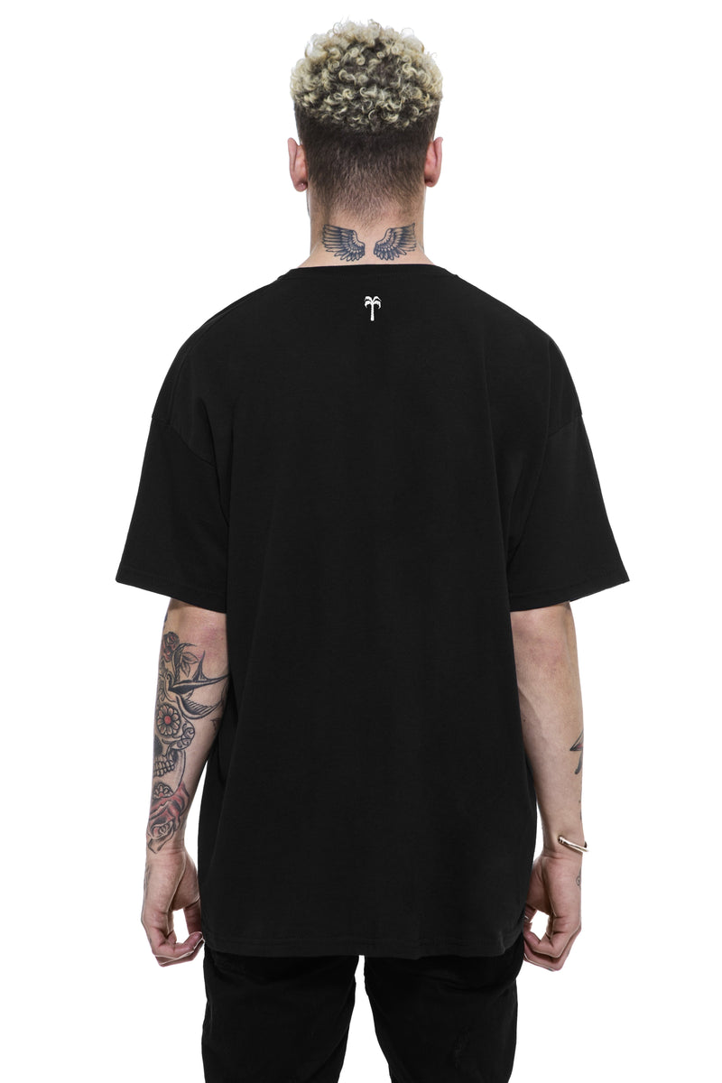 Grims Gym Tee / Black