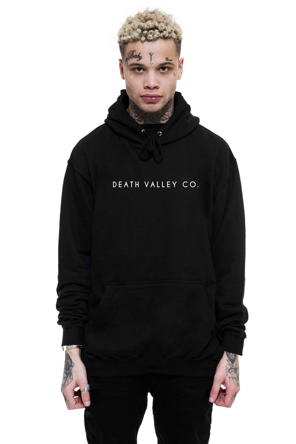 Death Valley Co. Hoodie / Black