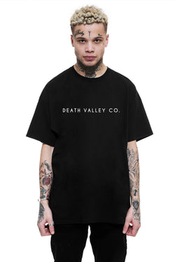 Death Valley Co. Logo Tee / Black