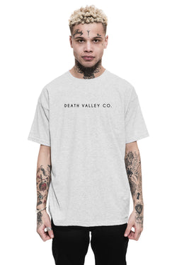 Death Valley Co. Logo Tee / Heather Grey