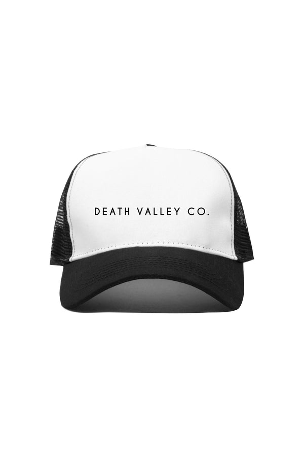 Death Valley Co. Trucker Hat / Classic Black