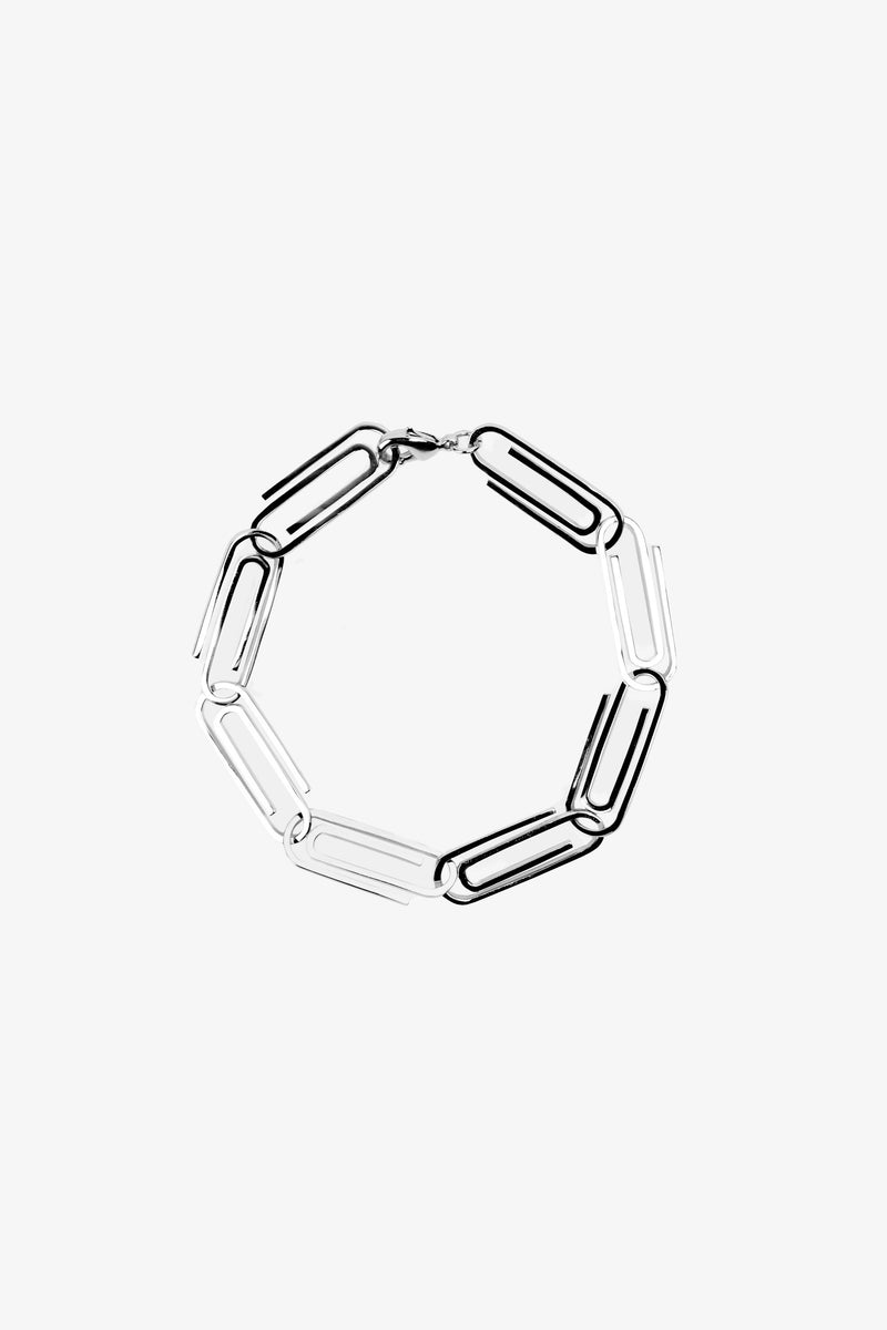 Paper Clip Bracelet - Dead Boys Club, Rock n Roll Jewellery, Contemporary Jewellery, Rock and Roll Jewellery, Dead Boys Club Rock n Roll Bracelets Necklaces Chokers Wallet Chains