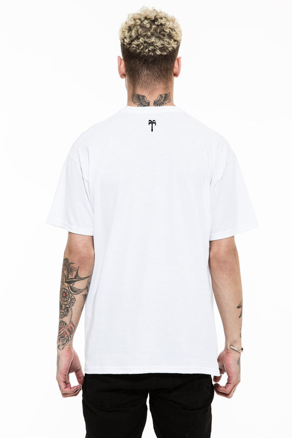 Grims Gym Tee / White