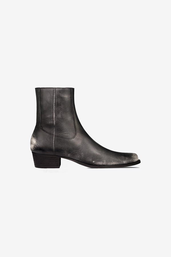 Western Boot | Heavy Relic Black