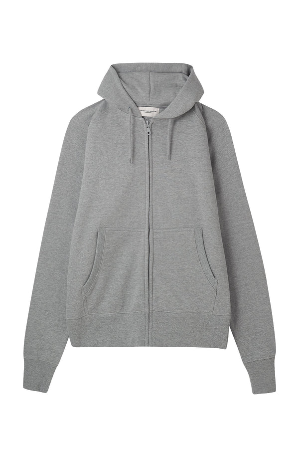 Crew Zip Through Hoodie