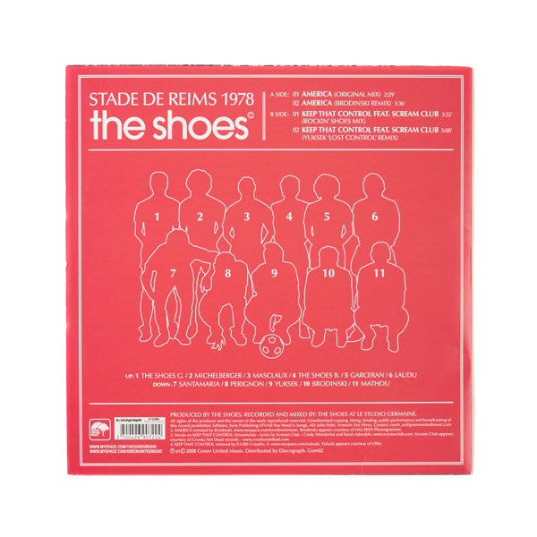 "THE SHOES ""STADE DE REIMS 1978"" EP (12""/33T)"
