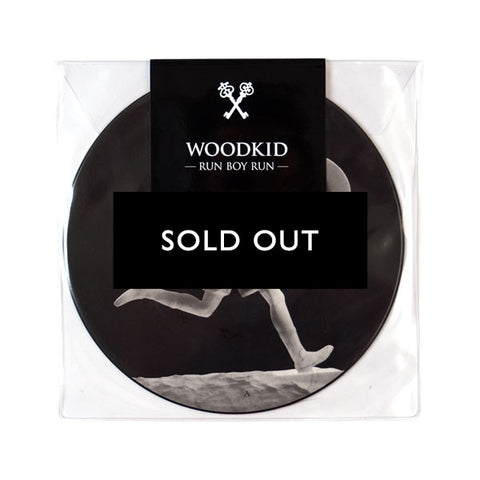 "WOODKID ""RUN BOY RUN"" EP (7"" PICTURE DISC)"
