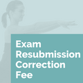 Exam Resubmission Correction Fee