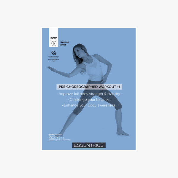 Pre-Choreographed Workout 11: Strength & Flexibility Balance (with downloadable music)