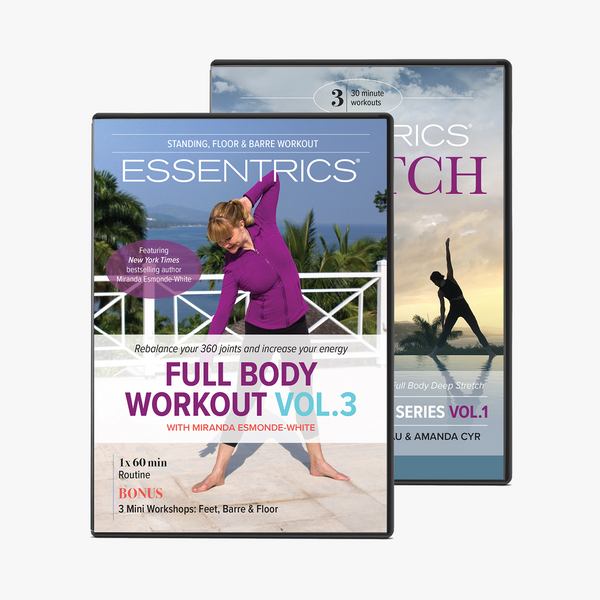 Essentrics Full Body Workout Vol. 3 & Stretch Series Vol. 1 DVD Box Set