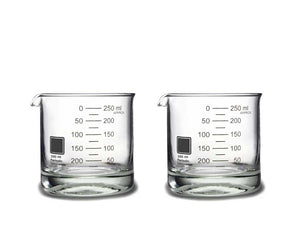 Laboratory Beaker Rocks Glasses: UK & Europe