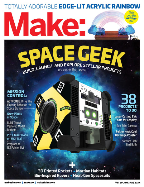 Make: Magazine, Volume 69 - Print