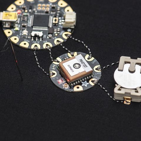 Adafruit Flora Wearable Ultimate Gps Module