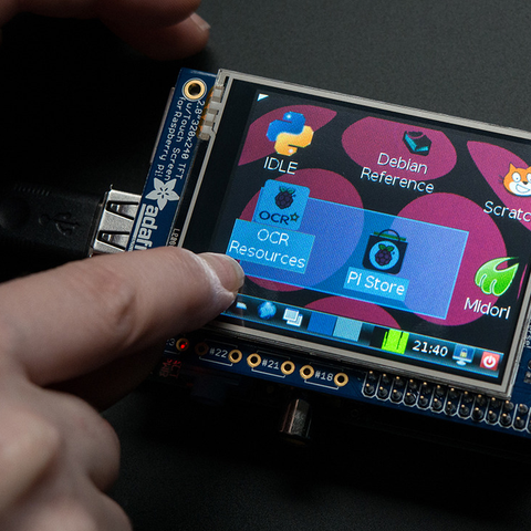 Adafruit PiTFT - 320x240 2.8 Tft Touchscreen for Raspberry Pi