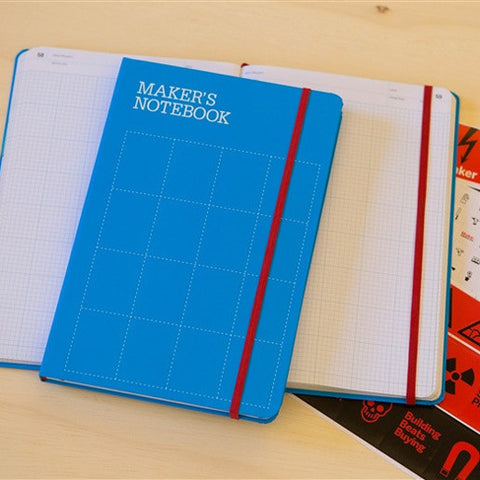 Maker's Notebook (Hard-Bound)