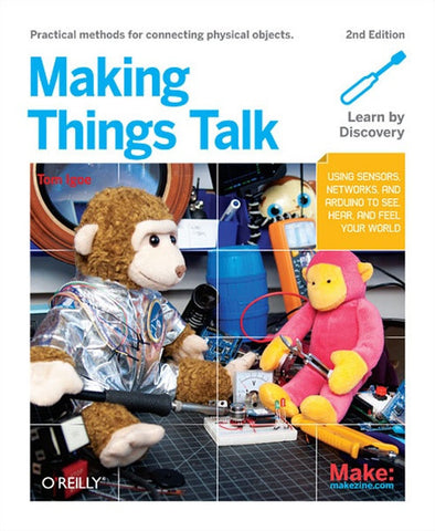 Make: Making Things Talk, 2nd Edition - PDF