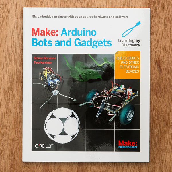 Make: Arduino Bots and Gadgets - PDF