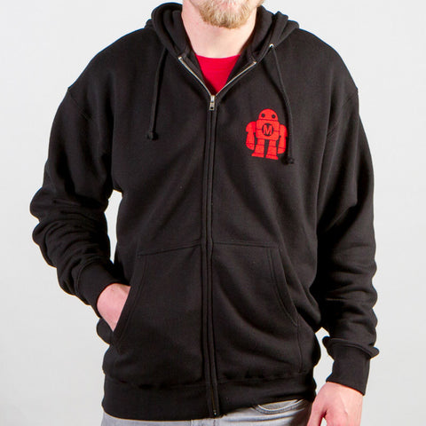 Maker Faire Year of The Maker Black Zip Hooded Sweatshirt