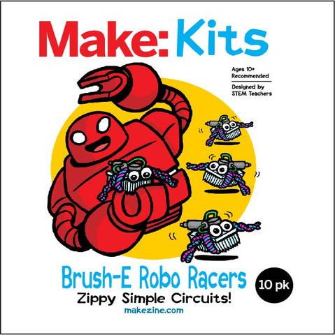 Brush-E Robo Racers - 10 Pack