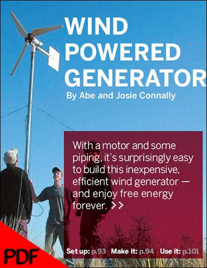 Wind Powered Generator, 1Ed (PDF)