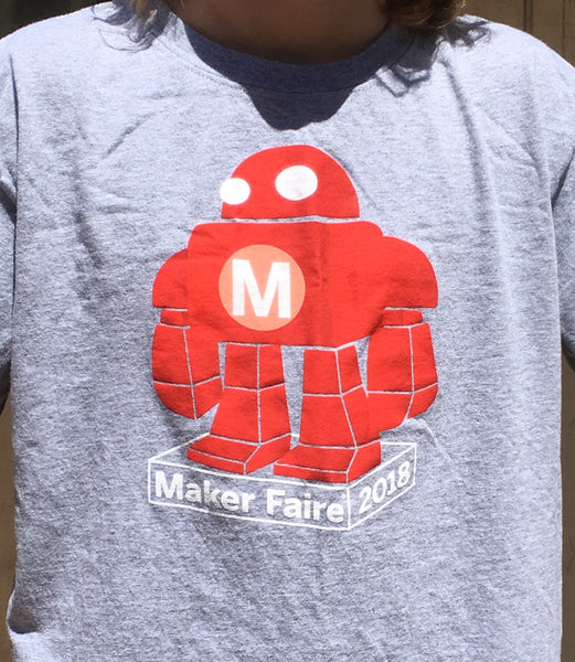 Maker Faire 2018 Event Shirt - Youth