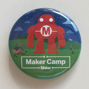 Maker Camp Pin - Pack of 25