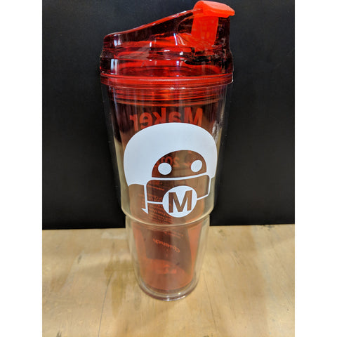 Maker Faire 2018 Dual Hot/Cold Travel Drink Tumbler