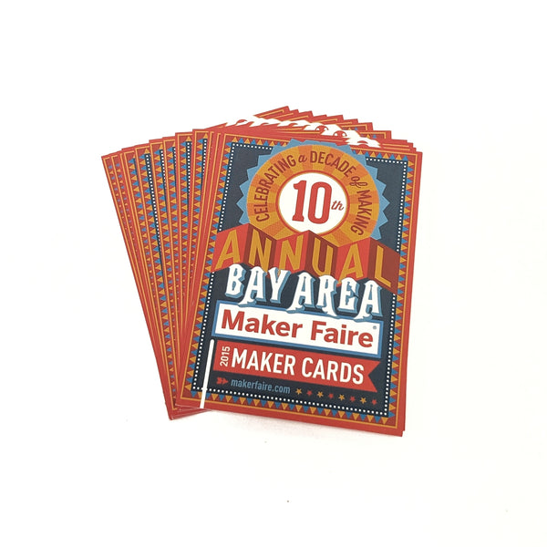 Maker Faire Maker Cards