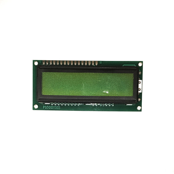 16x2 Character LCD - Black on Green 5V