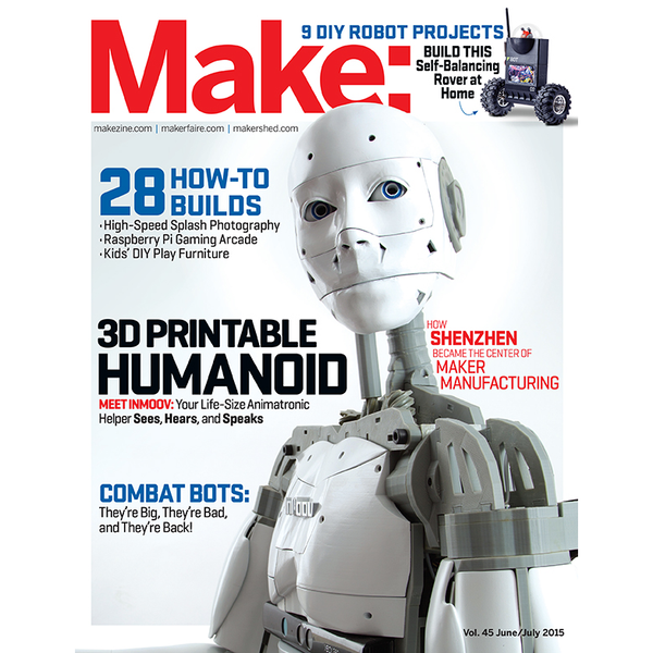 Make: Magazine, Volume 45 - Print