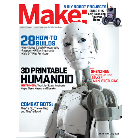 Make: magazine Volume 45