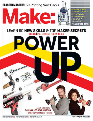 Make: Magazine, Volume 50 - Print