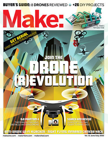 Make: Magazine Volume 51 (PDF)