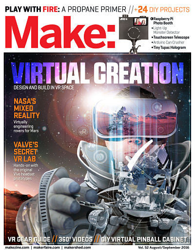 Make: magazine Volume 52