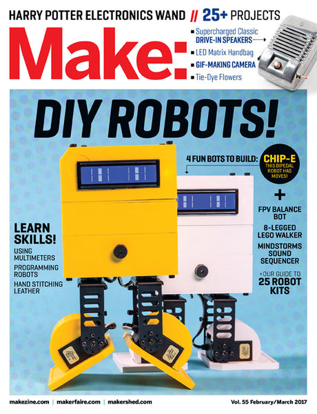 Make: Magazine, Volume 55 - PDF