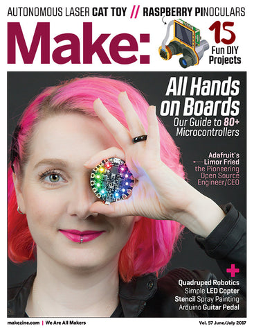Make: Magazine, Volume 57