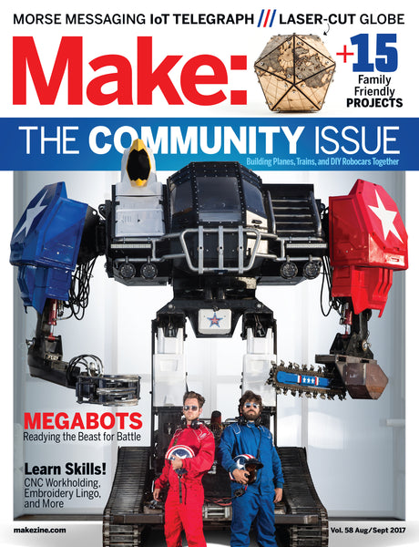Make: Magazine, Volume 58 - PDF