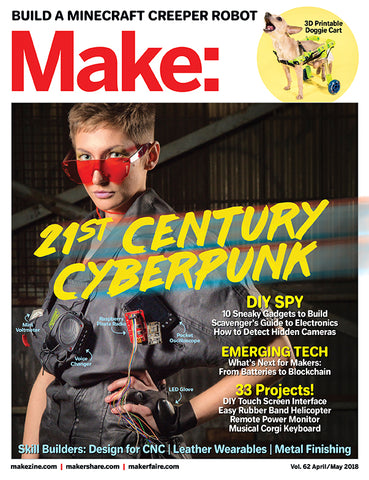 Make: Magazine, Volume 62 - PDF
