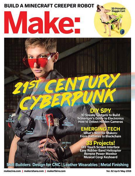 Make: Magazine, Volume 62