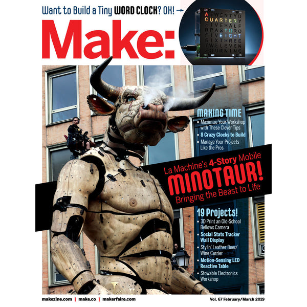 Make: Magazine, Volume 67 - PDF