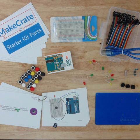 MakeCrate Electronics Kits - 6 month subscription