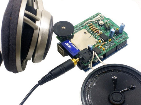 Adafruit Audio Player WaveShield Kit