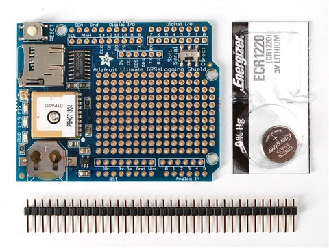 Adafruit Ultimate GPS Logger Shield w/GPS Module