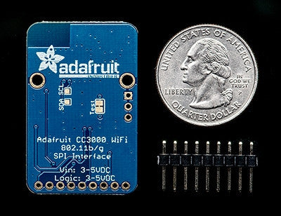Adafruit Cc3000 WiFi Breakout with Onboard Ceramic Antenna