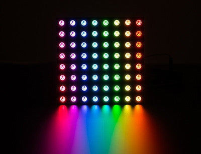 Adafruit NeoPixel NeoMatrix 8x8 - 64 Rgb Led Pixel Matrix
