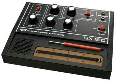 Gakken Sx-150 Analog Synthesizer Kit