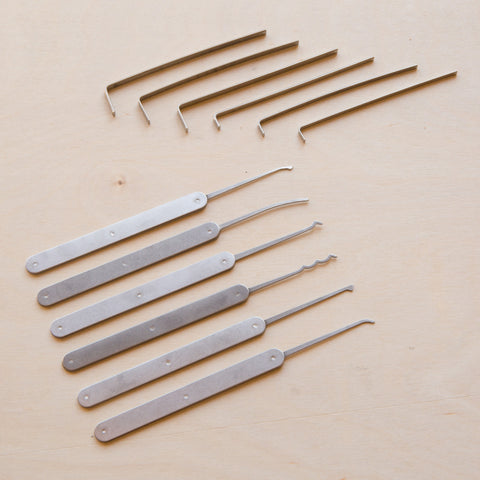 Toool Beginners 12-Piece Lockpicking Blend Set