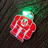 Maker Robot Learn to Solder Skill Badge Kit - Pack of 50 title=
